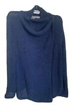 360 Sweater Knitted over lap closed by hook in fantastic condition
