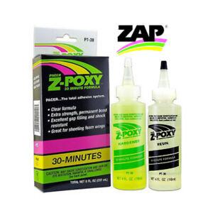 Pacer Zap PT-39 Z-POXY 30 Minute Epoxy Resin 8oz Pack PT39