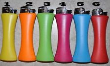6 PLAIN GIANT JUMBO S CURVE LIGHTER WITH BOTTLE OPENER different color(No gas)