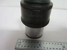 Optical Microscope Eyepiece Unitron Wfh10xr Optics As Is Bink9 24