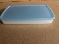 Tupperware ANTARCTICA SNOWFLAKE Light Blue RECTANGLE 600ml Container