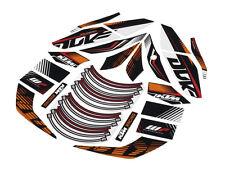 NEW KTM RACELINE STICKER KIT DECALS 125 200 390 DUKE 2015-2016 90608999000