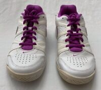 Nike Womens City Court VII Tennis Shoes White 488136-104 Low Top Lace Up 9 M