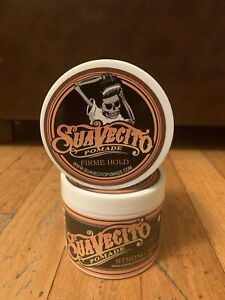 Suavecito Pomade Firme/ Strong Hold 2 Pack 4 oz each