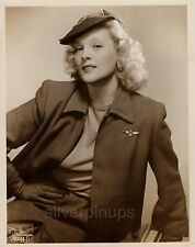 "Orig 1940's ILONA MASSEY Aviator Blonde.. ""ZIEGFELD FOLLIES"" Glamour Portrait"