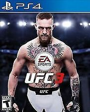 UFC 3 PS4 NEW! FIGHT NIGHT, BATTLE FIGHTER, MMA, CONOR MCGREGOR, ANDERSON SILVA