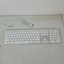 2007 Apple USB Slim Aluminum Keyboard with Number Pad Model A-1243.