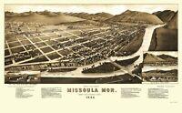 Missoula Montana - Stoner 1884 - 23.00 x 37.16