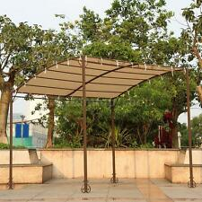 iKayaa 3*2.5*2.5M Metal Patio Awning Sun Shade Canopy Shelter Garden Porch M6O1
