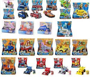 PAW Patrol Basic Fahrzeuge, Chase, Rubble, Skye, Marshall, Rocky, Everest, Dino