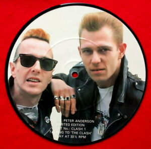 """The Clash  Picture Disc    Record  7"""" vinyl  - Interview"""