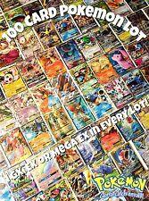 Pokemon TCG : 100 Card Lot GX EX or Mega EX Ultra Hyper Rare Full Art Holo Cards