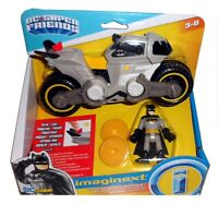 IMAGINEXT DC SUPER FRIENDS BATMAN & BATCYCLE FXW89 *BNIB*