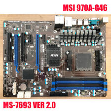 Per MSI 970A-G46 MS-7963 VER 2.0 Socket AM3+ AMD SATA Scheda Madre 6Gb/s DDR3