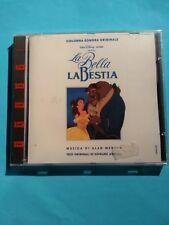 LA BELLA E LA BESTIA COLONNA SONORA  Versione Italiana CD 1991 EMI SEALED