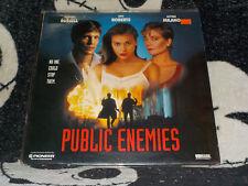 Public Enemies Laserdisc Alyssa Milano Eric Roberts Theresa Russell Free Ship$30