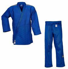 "adidas Judoanzug ""CHAMPION II"" IJF, blau/goldene Streifen, JIJFB - Judo-Anzug"