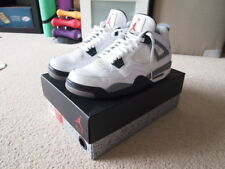 Air Jordan IV / 4 white cement 2012 sz 10.5 US 10