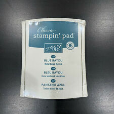 """Stampin Up """"CLASSIC"""" INK PAD - """"Blue Bayou"""" Dye Stamp - BRAND NEW"""