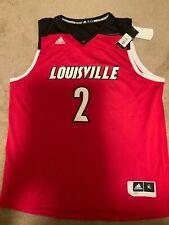 Adidas Louisville Cardinals #2 Ncaa Basketball Jersey NWT Size XL  Mens