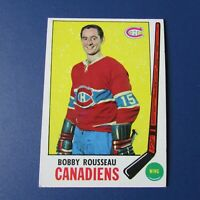 ROBERT BOBBY ROUSSEAU 1969-70  TOPPS # 9  Montreal Canadiens North Stars Rangers