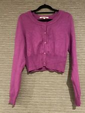 Size 12 Review Cardigan Long Sleeve Orchid Purple