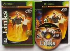 LINKS 2004 MICROSOFT XBOX SPORTS GOLF GOLFING VIDEO GAME COMPLETE FREE SHIPPING