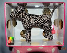 Victorias Secret Pink Mini Mini Giant Dog Limited Edition Leopard NWT