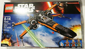 Lego Star Wars 75102 Poes X-Wing Fighter * 717 Pieces * Very Rare * Great Price