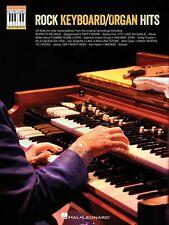 Rock Keyboard Organ Hits Sheet Music Note-for-Note Keyboard Transcript 000142488