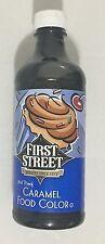 16oz First Street Food Color Caramel