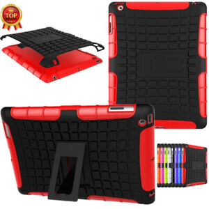 Heavy Duty Smart iPad Case Cover iPad 9th 8th 7th 6th Air2 Gen Cover Shockproof