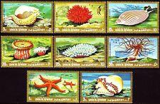 Umm al qiwain 1972 ** mi.682/89 a peces fish animales marinos Marine Life