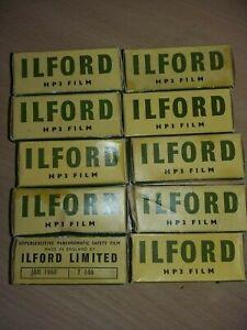 10 rolls Ilford HP3 vintage expired retro camera film lomography
