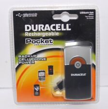 New Duracell Rechargeable Pocket Usb Charger Mini Usb