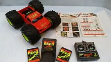 Vintage Tyco Rc Control Remoto 6.0V Jet Turbo rebote 4x4 vuelta Buggy