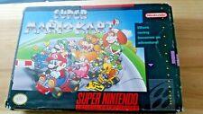 Original BOX only Super Mario Kart SNES Super Nintendo First Print USA Authentic