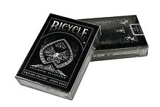V006-3 New Ellusionist Bicycle Shadow Masters Edition Rider Back Playing Cards