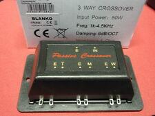 Org. Rockwood 3 vie Crossover 50w 4 Ohm 6db divisorio. 1k/4, 5khz 1 paia 24975