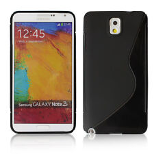 New S Line TPU Soft Case Cover For Samsung Galaxy Note3 III N9000 Black