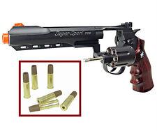 "WG-702BB Airsoft handguns WinGun 6""inch Heavy Metal 357-Revolver FREE Shipping"