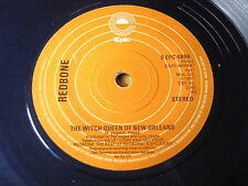 "REDBONE - THE WITCH QUEEN OF NEW ORLEANS / WOVOKA   7"" BLUE VINYL"