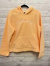 Aeropostale Fleece Hoodies TomBoy Fit Peach / Orange Size XL