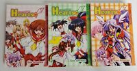 Guardian Hearts Vol. 1 2 3 by Sae Amatsu Manga Comic Book Complete Lot English