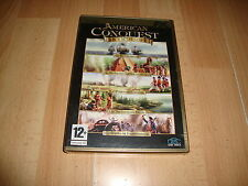 AMERICAN CONQUEST ANTHOLOGY DE GSC GAME WORLD PARA PC NUEVO PRECINTADO