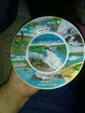 Vintage Niagara Falls Souvenir Collector Plate Prospect Point 7 In