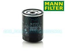 Mann Hummel Repuesto de Calidad OE Filtro de Aceite Del Motor W 717/2