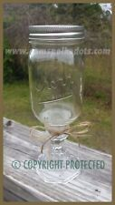 NEW Handmade REDNECK WINE GLASS 16 oz. Mason Jar Hillbilly Country Style