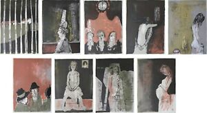 Jean Jansem: Brittany - 9 Lithographs Original, 1967 Per Mourlot