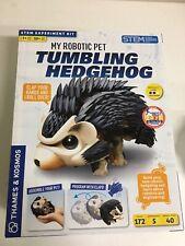 Thames Kosmos My Robotic Pet, Tumbling Hedgehog Tumbles Rolls. Brand New! Stem!